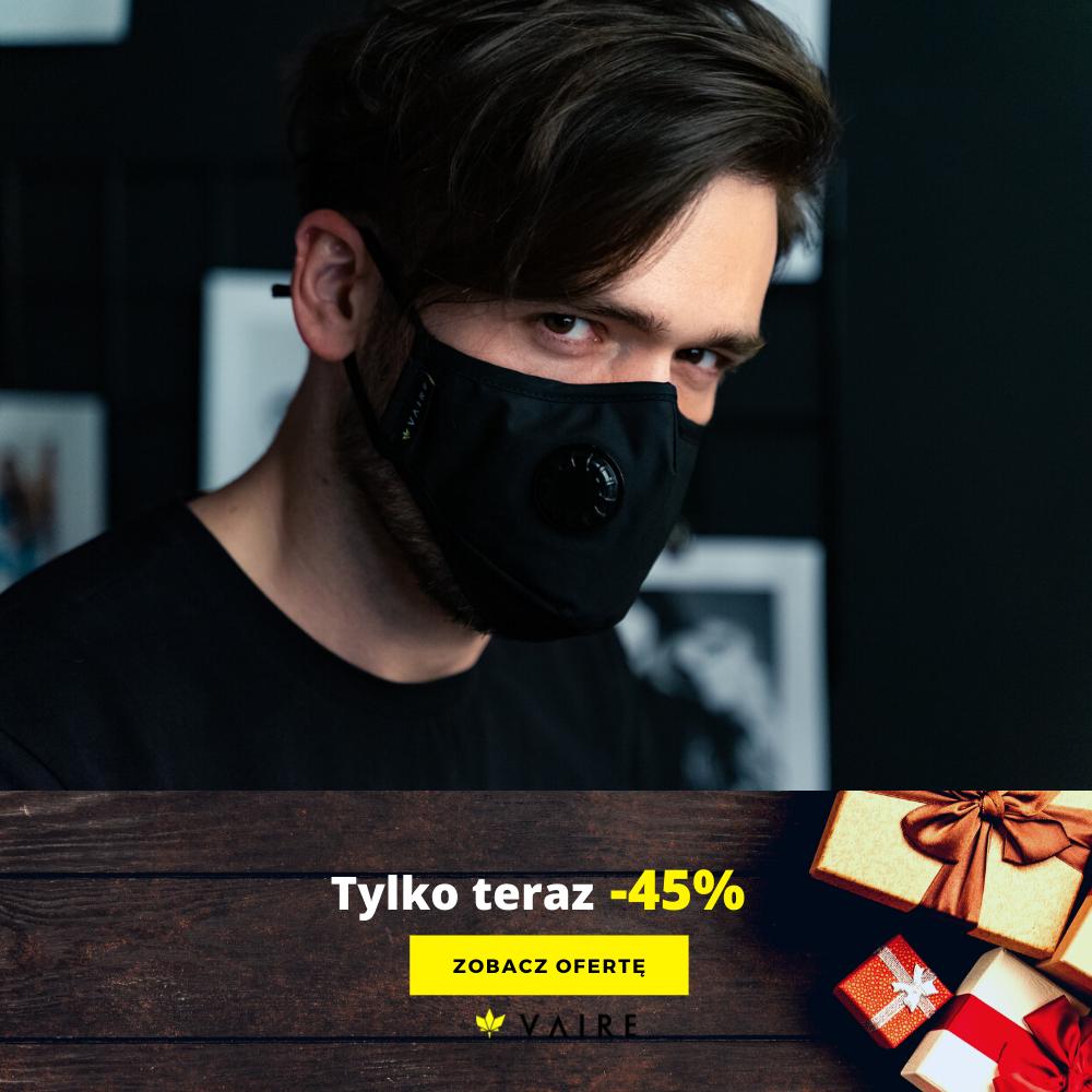 Reklama produktowa z promocją 45%
