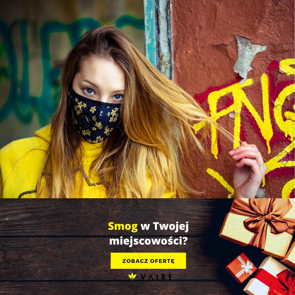 Przykładowa reklama marki Vaire smog w Twojej miejscowości